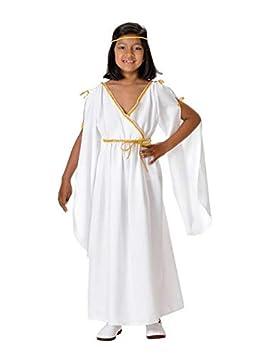DISBACANAL Disfraz Romana niña - Único, 6 años