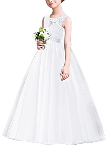 wer Wedding Bridesmaid Dress Floor Length Princess Long A Line Pageant Formal Prom Dance Gown ()
