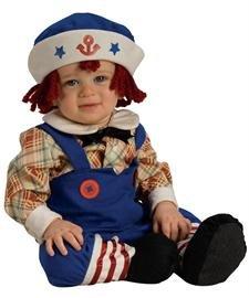 [Yarn Babies Ragamuffin Sailor Infant / Toddler Costume Infant (Infant)] (Ragamuffin Costume)