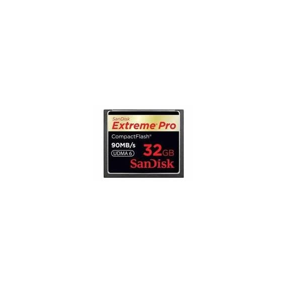 SanDisk 32GB Extreme Pro CF memory card - UDMA 90MB/s 600x (SDCFXP-032G-A91, US Retail Package) 1 Capture more continuous burst shooting-and get the most out of your professional digital SLR camera 32GB storage capacity with 600x memory speed Limited lifetime warranty