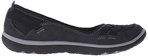 Clarks Aria plana Bomba Black Synthetic