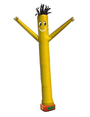 20 Feet Sky Puppet tube man Dancer, Fly Guy Puppet Dancer walk man,dancing man,dancer figurines,air walker balloons,swing dancing people,promotional activities gifts - Costume Walkman