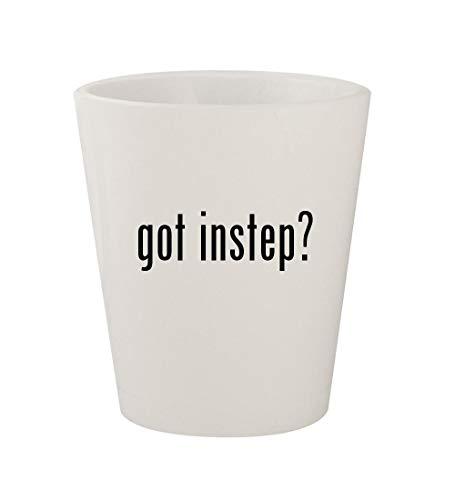 got instep? - Ceramic White 1.5oz Shot Glass ()