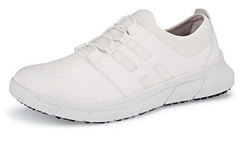 Sneaker Arztschuhe Küchenschuhe ohne Krankenschwester Weiß For 41 Vegan für SFC Karina Arbeitsschuhe 100 Shoes Arzthelferin Damen Crews Praxisschuhe Schutzkappe qpFxwwv