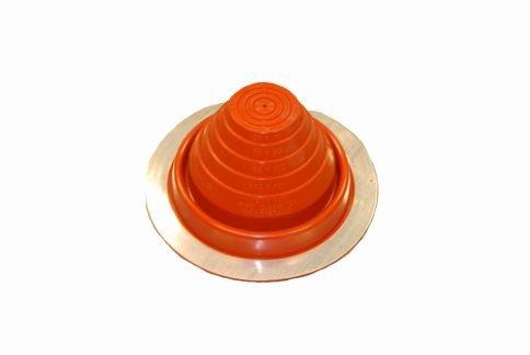 #3 Round Red Hi-Temp Flashing 1//4-5