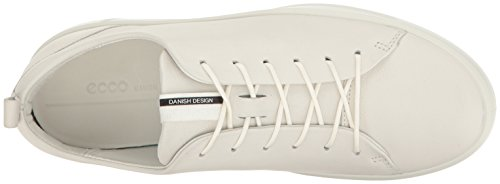 1007white Femme Baskets 8 Ladies Blanc Basses Soft Ecco ZcfqX7y0f