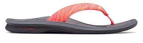(ニューバランス) New Balance 靴?シューズ レディースサンダル Cush+ Heathered Thong Grey with Pink グレー ピンク US 9 (26cm)
