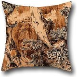 - Cushion Covers 18 X 18 Inches / 45 By 45 Cm(both Sides) Nice Choice For Bedroom,home Theater,bar,birthday,kitchen,her Oil Painting Karl Blechen - Weathered Tree Trunks In A Park