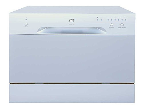 SPT SD 2213S Countertop Dishwasher Silver product image