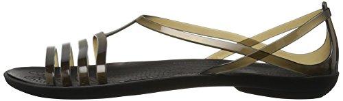 Femme Nero Bouts Isabellasandalw Ouverts Crocs blk Chaussures À Cnq7XRROw