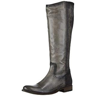Frye Women's Melissa Inside Zip Tall Knee High Boot, Graphite, 6.5 M US
