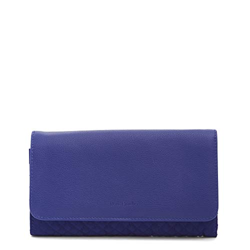- Vera Bradley Iconic RFID Audrey Wallet,  Microfiber, One Size