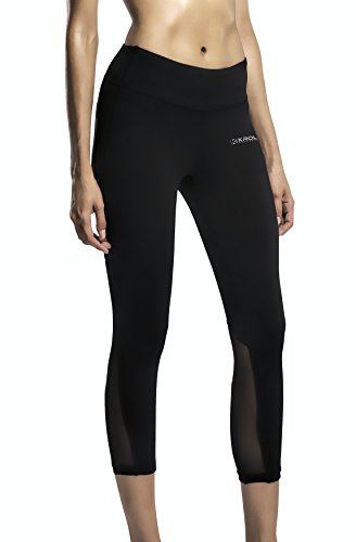 Compression Pants For Women Girls Athletic Yoga Running Base Layer Leggings Tights Colorful Pants For Summer Winter For Working Out Yoga Tights Sports Women Sport Tight Pants by Krol Athletic (Colorful Tights Running)