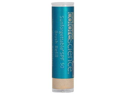 Colorescience Pro Sunforgettable SPF 50 Pinceau Poudre Recharge - 6g moyen