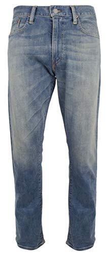 Polo Ralph Lauren Men's Varick Slim Straight Stretch Jeans Pant-B-33WX32L Blue