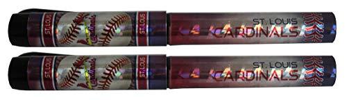 St. Louis Cardinals Metallic Logo Pen 2pk