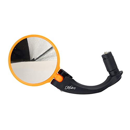 Quality Bike Bicycle Safe Riding Road Outdoor Handlebar Flexible Rear Back View Rearview Mirror ()