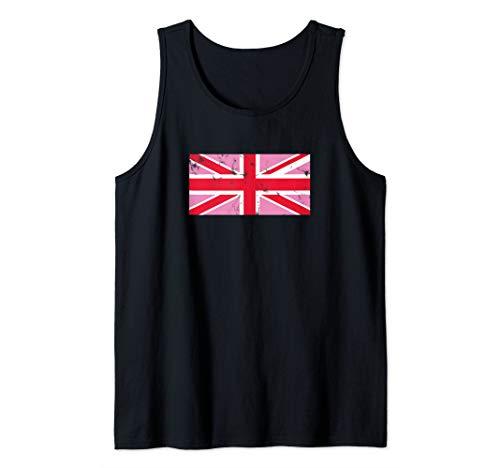 (Pink Jack British LGBT Pride Union Jack Tank Top)