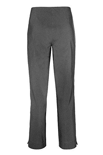 Ajustada Básico Pantalón Gris Para Mujer Plateado Stehmann Ux8wWnRx