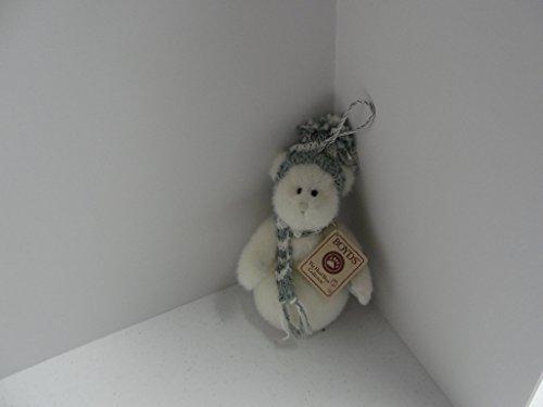 - Snowee Boyds Bears Plush Snowman Ornament #562930