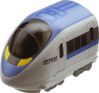 チョロQ 500系 新幹線のぞみ(グレー×ブルー) 「チョロQ電車シリーズ No.1」