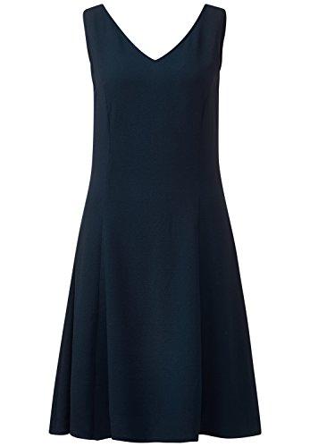 Donna Basic Maniche Blu Vestito Street Blu Senza A One night Ad Linea 1nqZ68