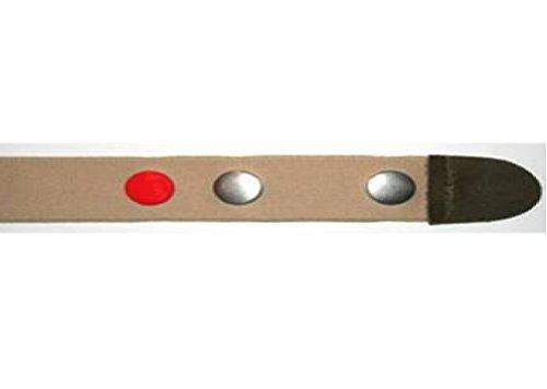 Clip.ho ho-clip de ceinture-taille 128 portable jusqu'à 146 cm, couleur :  beige