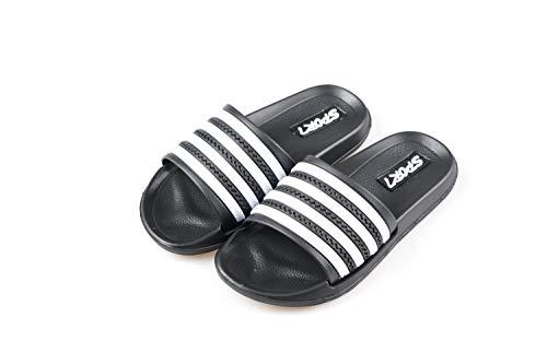 Ku-lee Kids Lightweight Slide Sandals- Wearproof Sandals Shoes for Indoor and Outdoor