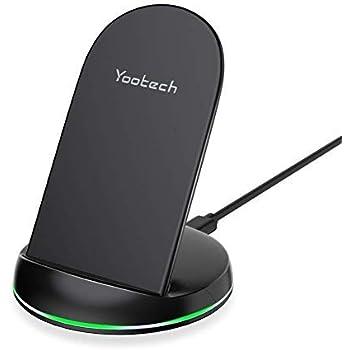 Amazon.com: Yootech - Cargador inalámbrico (certificado QI ...