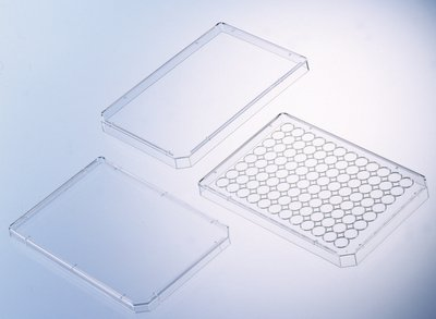 656172 - Standard Lids with Condensation Rings - 96-Well Plate Lids, Greiner Bio-One - Case of (Greiner 96 Well Plates)