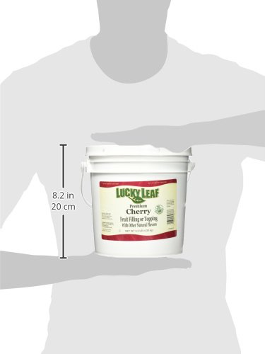 Lucky Leaf Premium Clean Label Cherry Fruit Filling or Topping Pail, Cherry, 9.5 Pound by Lucky Leaf (Image #6)