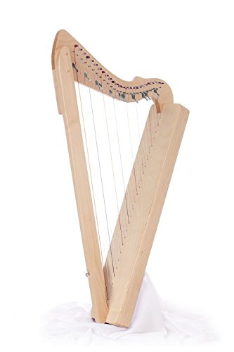 Harpsicle Harps, FLATSICLE MAPLE, 26-String 33'' LAP Harp Flatsicle - Maple by Harpsicle Harps
