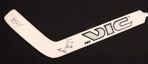 1992 93 Los Angeles Kings Team Signed Victoriaville Hockey Stick Gretzky + JSA Certified Autographed NHL Sticks