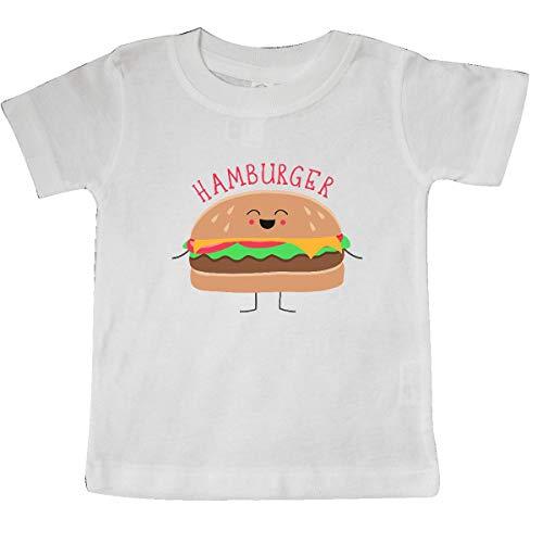 inktastic - Hamburger Costume Baby T-Shirt 6 Months White -