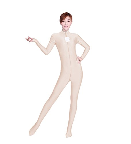 Circus Unitard Costumes (WOLF UNITARD Long Sleeve Bodysuit for Adult and Child Small)