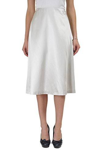 Martin Margiela 1 Light Gray Full Zip Women's A-Line Skirt US M IT (Martin Margiela Women Skirts)