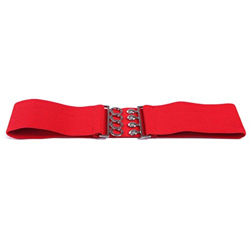 HDE Women's Fashion Elastic Cinch Belt 3
