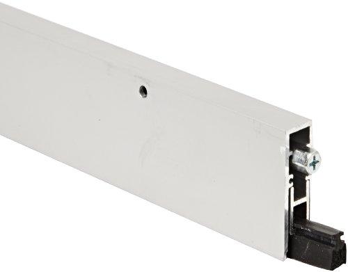 "Pemko Aluminum Automatic Door Bottom, Clear Anodized, Insert, 19/32""W x 36"