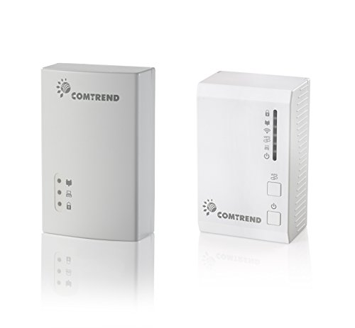 Comtrend G.hn 1200 Mbps Powerline Ethernet Bridge Adapter with WIFI PG-9171n + PG-9172 Combo Kit