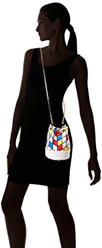 Bleu de Mujer Bolsa Bobby L'AETELIER Blanc Blanc Rouge Hombro CAESARS wCAgnzq