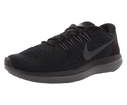 Nike Women's Flex 2017 RN Running Shoe (8 B(M) US, Black/Metallic Hematite/Anthracite/Dark Grey)