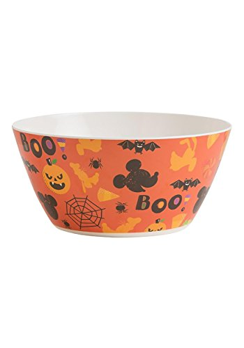 Vandor 89024 Disney Mickey & Minnie Mouse Halloween Party Melamine Serving Bowl, 10 -