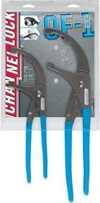 2 Pc. Oil Filter/ PVC Plier Set by Channellock