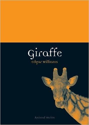 Book Giraffe (Reaktion Books - Animal) by Edgar Williams (2011-01-15)