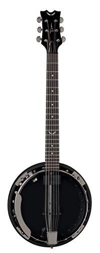 Dean Backwoods Banjo (Dean BW6CEBC Backwoods 6 Banjo with Pickup, Black Chrome)