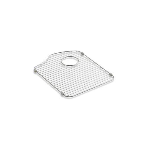 KOHLER 6453-ST Octave Right-Hand Sink Rack for Octave K-3842 and K-3843 Sinks, Stainless Steel