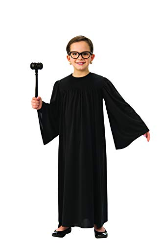 Judge Robe for Kids | Black Supreme Court Justice Robe (Large)]()