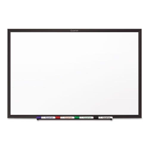 Quartet Whiteboard, Standard, 6 x 4 Feet, Aluminum Frame, Black (S537B)