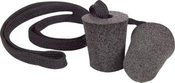 Cashel Ear Plugs with String, Size Choice: Small (Pony), Medium (Horse), Large (Warmblood), or X-Large (Draft) (Medium (Horse))