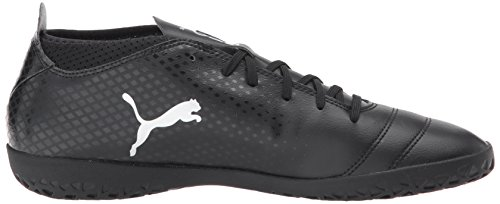 PUMA Men's One 17.4 IT Soccer Shoe Puma Black-puma Black/Silver best store to get sale online best place cheap sale pay with visa cheap sale low cost 6WDTba